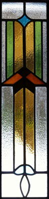 Stained Glass panel in Bramhope
