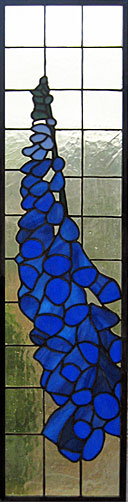 Fox glove in Stained Glass in Honley